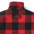 Filson Mackinaw Wool Field Jacket Red Black back detail