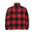 Filson Mackinaw Wool Field Jacket Red Black back