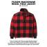 Filson Mackinaw Wool Field Jacket Red Black sewn in Seattle