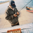 Filson Mesh Logger Cap Black-20157135-Navy men lifestyle