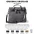 Filson Original Briefcase 11070256 Cinder colorswatch and description