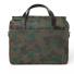Filson Waxed Rugged Twill Original Briefcase 20226928-Dark Wax Shrub Camo back