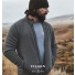 Filson Ridgeway Fleece Jacket Charcoal Heather lifestyle
