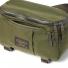 Filson Ripstop Compact Waist Pack Surplus Green zippers