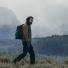 Filson Ripstop Nylon Backpack 20115929-Surplus Green men in the field