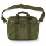 Filson Ripstop Nylon Compact Briefcase 20203678-Surplus Green front with shoulderstrap
