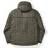 Filson Ultra Light Hooded Jacket Olive Gray back