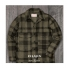 Filson Mackinaw Wool Cruiser Otter Green/Black Plaid