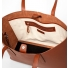 Sandqvist Emma Tote Bag Cognac Brown inside