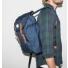 Sandqvist Hans Blue Backpack side men