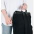 Sandqvist Hege Backpack Black side zipper