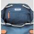 Sandqvist Roald Backpack Dusty Blue inside