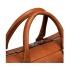 Shinola Slim Briefcase Bourbon Handle