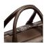 Shinola Slim Briefcase Deep Brown Handle