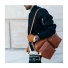 Shinola Zip Top Messenger Bourbon Streetwear