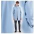 Stutterheim Stockholm Raincoat Blue Fog men effect