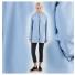 Stutterheim Stockholm Raincoat Blue Fog women effect