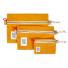 Topo Designs Accessory Bags Canvas Mustard Set of 3