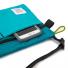 Topo Designs Accessory Shoulder Bag Turquoise pocket