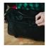 Topo Designs Commuter Briefcase Ballistic/Black Leather detail