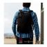 Topo Designs Commuter Briefcase Black/Black Leather backpack straps