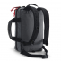 Topo Designs Commuter Briefcase Charcoal/Black Leather backpack