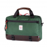 Topo Designs Commuter Briefcase Forest/Dark Brown