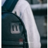 Topo Designs Daypack Ballistic Black Leather lifestyle