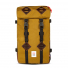 Topo Designs Klettersack Duck Brown/Dark Brown Leather front