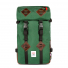 Topo Designs Klettersack Forest/Brown Leather front