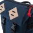 Topo Designs Klettersack Navy detail flap