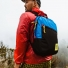 Topo Designs Light Pack Royal/Black lifestyle