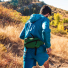 Topo Designs Mini Quick Pack Green running