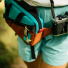 Topo Designs Mini Quick Pack Turquoise/Clay waist pack mode woman
