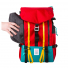 Topo Designs Mountain Pack side zippered pocket
