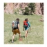Topo Designs Mountain Pack Silver and Red lifestyle