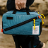 Topo Designs Quick Pack Blue/White Ripstop lifestyle