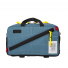 Topo Designs Quick Pack Blue/White Ripstop front