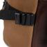 Topo Designs Rover Pack Heritage Dark Khaki Canvas/Dark Brown Leather hardware detail