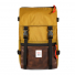 Topo Designs Rover Pack Heritage Duck Brown/Dark Brown Leather front