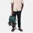 Topo Designs Rover Pack Heritage Forest/Brown Leather carrying