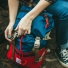 Topo Designs Rover Pack Navy/Red lifestyle