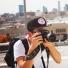 Topo Designs Snapback Hat Black lifestyle