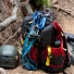 Topo Designs Subalpine Pack Red climbing gear