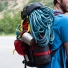 Topo Designs Subalpine Pack Red fully packed