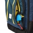 Topo Designs Travel Bag 40L Navy inside frontpocket
