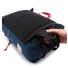 Topo Design Travel Bag Navy straps hide