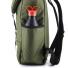 Topo Designs Y-pack Olive sidepocket
