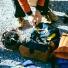 Topo Klettersack Navy/Brown Leather lifestyle klettersteig