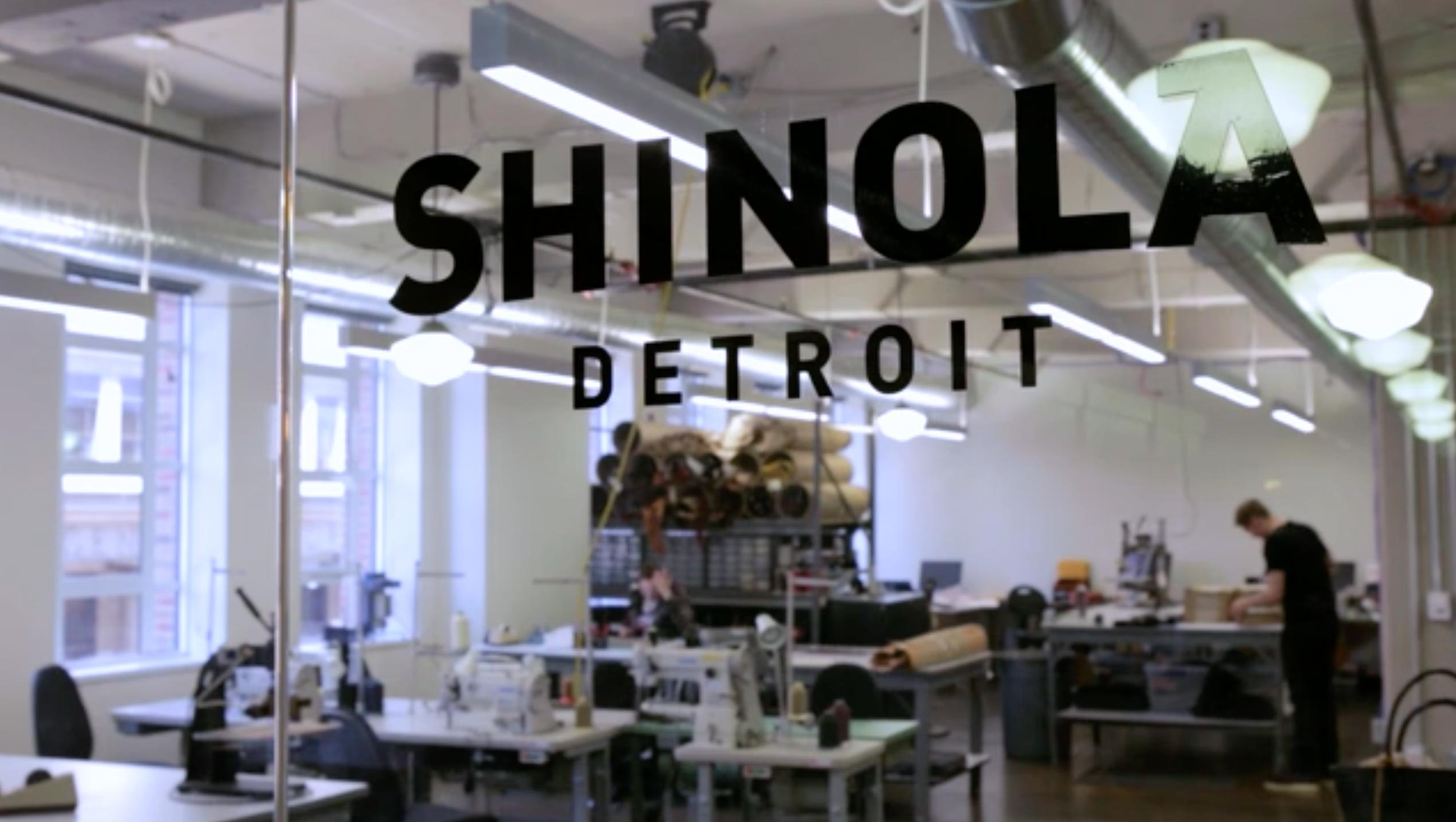 Shinola Desingstudio and Leather Factory